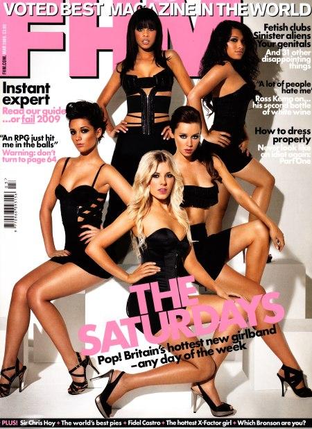 The Saturdays FHM Cover