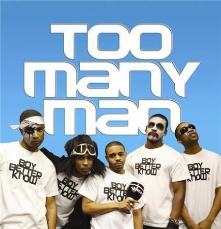 too many man cover